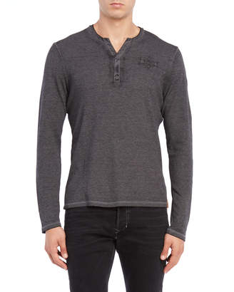 Buffalo David Bitton Nandor Long Sleeve Henley