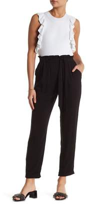 Know One Cares Paper Bag Waist Pants