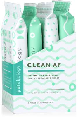 Abercrombie & Fitch Patchology Clean Cleansing Facial Wipes