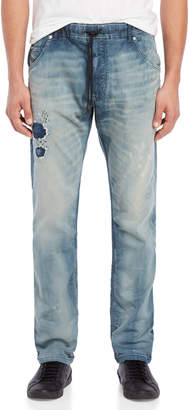 Diesel Medium Wash Krooley Jogg Jeans