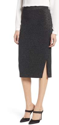 Halogen Shimmer Sweater Skirt