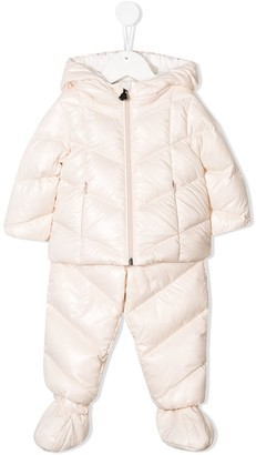 Moncler hooded padded tracksuit