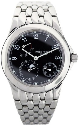 Patek Philippe 5085 Stainless Steel Power Reserve Moonphase Mens Watch $19,950 thestylecure.com
