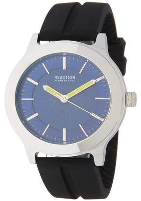 Kenneth Cole Reaction Men's Blue 3 Hand Watch, 46MM