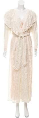 Christian Dior Silk Three-Piece Sleepwear Set