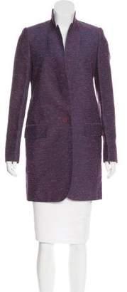Stella McCartney Textured Knee-Length Coat