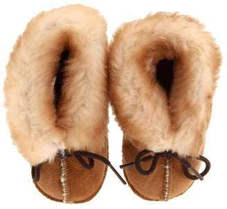 Minnetonka Kids Genuine Sheepskin Bootie Kids Shoes