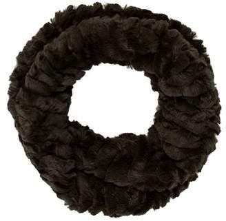 Adrienne Landau Faux Fur Circle Scarf w/ Tags