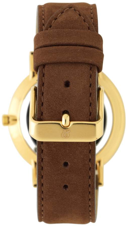 Larsson & Jennings Lugano 40mm Gold / Brown Leather