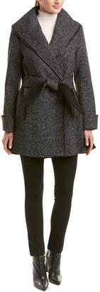 Trina Turk Trina Trina By Jami Wool-Blend Coat