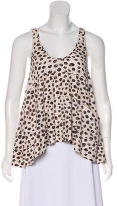 3.1 Phillip Lim Printed Sleeveless Top