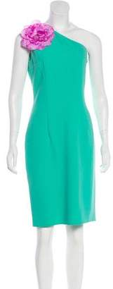 Michael Kors One-Shoulder Knee-Length Dress