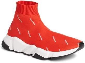 Balenciaga Speed Logo Sock Sneaker
