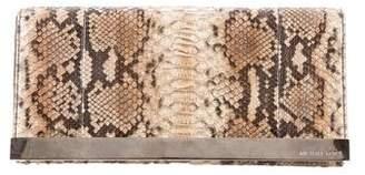 Michael Kors Python Tilda Clutch