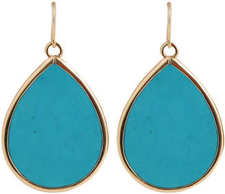 Artsmith BY BARSE Art Smith by BARSE Blue Magnesite Teardrop Earrings