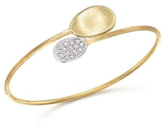 Marco Bicego 18K Yellow Gold Diamond Lunaria Bracelet with Diamonds
