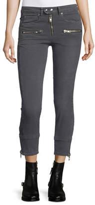 Etoile Isabel Marant Pelona Cropped Moto Pants