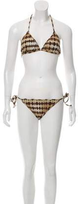 Bantu Tie-Dye Two-Piece Swimsuit