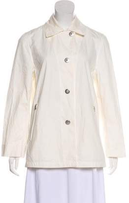 Max Mara Zip-Accented Studded Jacket