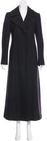 Miu Miu Miu Miu Wool Long Coat