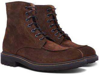 Brunello Cucinelli Suede Boots - Brown