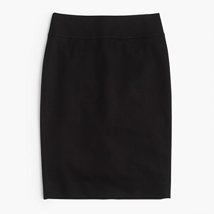 J.Crew Petite No. 2 pencil skirt in bi-stretch cotton