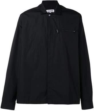 Jil Sander zip pocket shirt