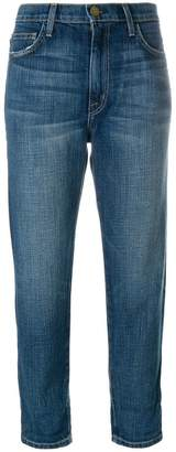Current/Elliott Slouchy Carrot cropped jeans