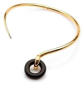 Charlotte Chesnais Swing Wood & Vermeil Necklace