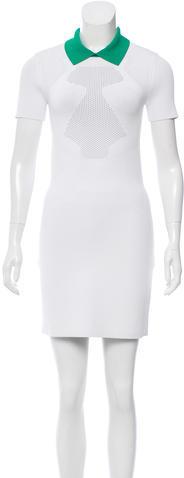 Alexander WangAlexander Wang Short Sleeve Mini Dress