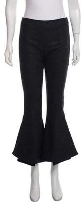 Mary Katrantzou Wool Flared Pants