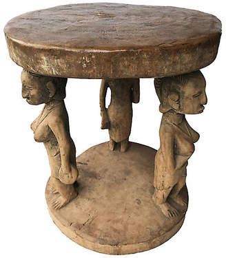 One Kings Lane Vintage African Baga Stool/Table from Guinea
