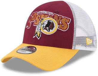 New Era Boys' Washington Redskins Trucker Joy 9FORTY Cap