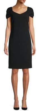 Laundry by Shelli Segal Classic V-Neck Sheath Dress