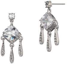 Carolee Social Soiree Crystal Mini Chandelier Drop Earrings
