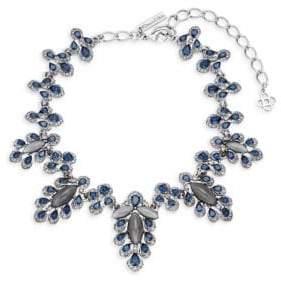 Oscar de la Renta Multicolored Crystal Parlor Necklace