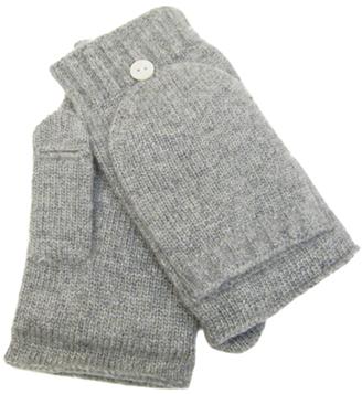 Cashmere Blend Flip Top Mittens $87 thestylecure.com