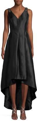 Calvin Klein High-Low Satin Gown