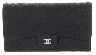 Chanel Caviar L-Flap Wallet