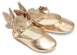 Sophia Webster Baby's Mini Chiara Wing Leather Flats