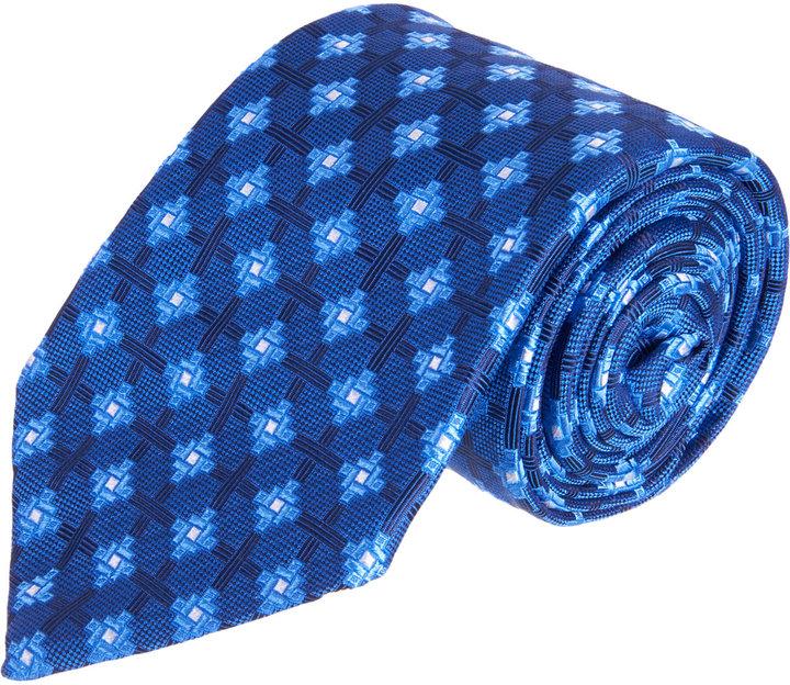 Barneys New York Cross Medallion Tie