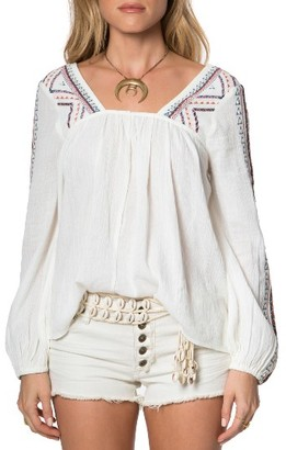 Women's O'Neill Sidra Embroidered Woven Top $59.50 thestylecure.com
