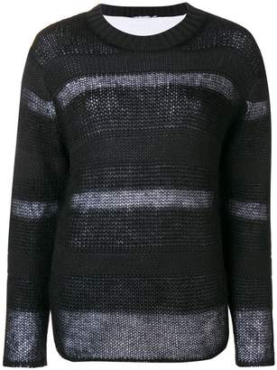 Alexander Wang stripe panel sweater