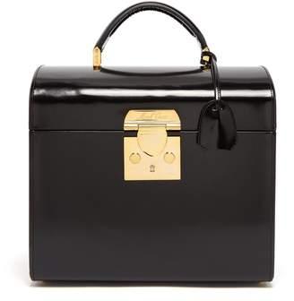 Sara leather beauty case