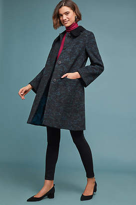 Helene Berman London Velvet Collared Coat