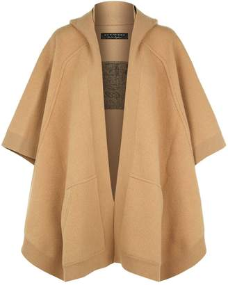 Burberry Hooded Cape Cardigan