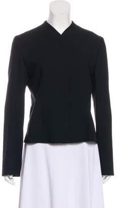 Emporio Armani Virgin Wool Lightweight Blazer