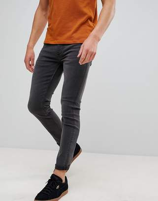 ONLY & SONS skinny gray jeans