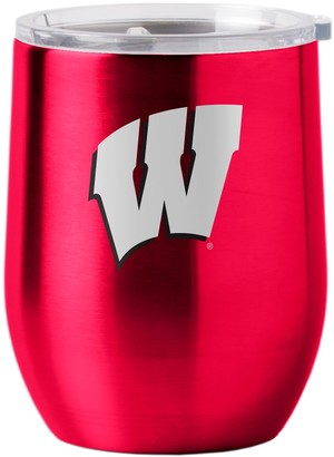 NCAA Boelter Wisconsin Badgers 16-Ounce Stainless Steel Cup