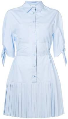 Pinko pleated shirt dress